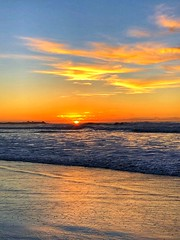 Asilomar State Beach Sunset (Nancy D. Brown) Tags: california monterey as asilomarstatebeach asilomar