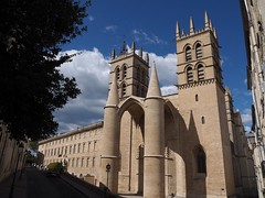 Montpellier Cathedral (M_Strasser) Tags: montpellier cathedral olympus olympusomdem1 france frankreich
