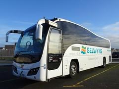 SEL702 Selwyn's of Runcorn in Blackpool (j.a.sanderson) Tags: volvob9r b9r coach coaches plaxtonelite plaxton volvo runcorn selwyn's blackpool sel702