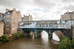 Back of the Bridge (Baker_1000) Tags: 2018 bath autumn weir river nikon d90 nikond90 raw pulteneybridge pulteneyweir