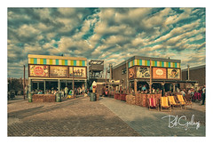 It is weather past that pretty summer (Bob Geilings) Tags: clouds dramatic patat koekensopie netherlands icecream langevelderslag shop summer