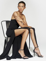 Strapless Strips Jumpsuit - Black By Halston Heritage (katalaynet) Tags: follow happy me fun photooftheday beautiful love friends