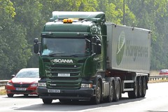 ND63 DCU (panmanstan) Tags: scania r440 wagon truck lorry commercial bulk freight transport haulage vehicle a63 everthorpe yorkshire