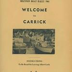 1964 Shannon Boat Rally-Docs -Entries  Etc DA