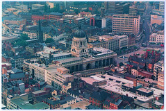 Nottingham - The Council House (pepandtim) Tags: postcard old early nostalgia nostalgic nottingham council house air reflections bygone age keyworth robin macey photograph taken 47ntc99