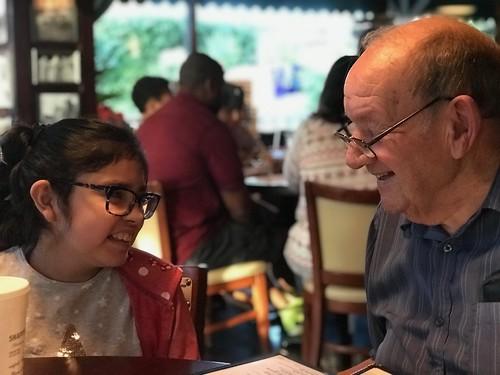 With My Grandpa