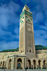 Hassan II Mosque Minaret, Casablanca (Bokeh & Travel) Tags: hassaniimosque minaret casablanca morocco kingdomofmorocco islam architecture beautiful tall slender muslim islamic africa ornamental art mosque