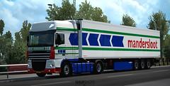 WiP Mandersloot Romania DAF XF105 w/ Schmitz SKO [ETS2] (gripshotz) Tags: mandersloot romania holland daf xf 105 schmitz sko trailer skin euro truck simulator ets 2