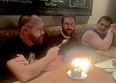 IMG_7607 (danimaniacs) Tags: cake candles man guy beard scruff