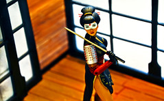 Katana (RK*Pictures) Tags: dccomics comicbooks actionfigure dccollectibles sexy girl female attractive beauty legs woman hot toy longlegged identity athletic adventure sweet cool rkpictures red toyphotography actionfigurephotography vintage retro bombshell dcbombshells antlucia designerseries feminism pinup hairstyle pinupstyle seductive superheroine crimefighting black dress makeup hair katana sword blade necromancy japanese tatsuyamashiro 山城たつ yamashirotatsu samuraiwarrior flowers kimono design samuraiarmor sode dragontattoo mikewbarr jimaparo masterswordswoman martialarts soultaker soul justice handtohandcombatant tacticalskills muramasa cursed cuttingedge 刀 japan tattoo