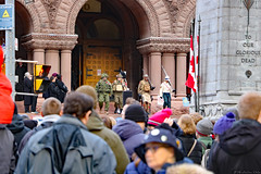 100th Anniversary of Armistice Day (Can Pac Swire) Tags: toronto ontario canada canadian city 20181111 remembrance day 100th centenary anniversary endof world war one 1 i wwi old hall 2018aimg5888 armistice queen st street w west 60