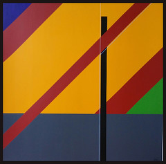 KONSTRUKTION M-W 2018 (HolgerArt) Tags: konstruktivismus gemälde kunst art acryl painting malerei farben abstrakt modern grafisch konstruktiv