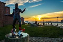 Billy Fury Statue (Gary S Bond) Tags: great britain pier head real lancashire united kingdom 2018 a65 alpha city december docks england liverpool merseyside north shabbagaz sony uk waterside west greatbritain pierhead reallancashire unitedkingdom