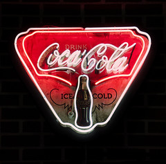 Ice Cold (arbyreed) Tags: neon neonsign cocacola cocacolasign coke cokesign advertising coleneonsign vintage vintagecocacolasign vintageneon legendsmotorcycleemporium sidecarcafe springvilleutah utahcountyutah arbyreed