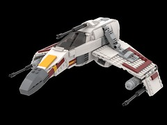 E-Wing Escort Starfighter (Moppo!) Tags: star wars ewing rebel alliance new republic lego