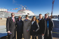 20181215_Y5A8669_m (LCS Team Freedom) Tags: 2018 christening lcs lcs19 launch littoralcombatship marinette shipyard stlouis usnavy usn wi wisconsin