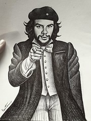 """Che Guevara - I Want You to Rebel"". Original version, ballpointpen on paper from 2007 ------------- Dessin au bic sur papier fait en 2007 #cheguevara #benheineart #drawing #dessin #ballpointpenart #ballpointpendrawing #che #unclesam #uncleche #iwantyou # (Ben Heine) Tags: originaldrawing che rebel iwantyoutorebel oroginal revolucion cheguevara benheineart portrait iwantyou revolution ballpointpendrawing dessin usarmy unclesam ballpointpenart uncleche coolandaffordableoriginalsforsale drawing artforsale benheine"