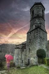 """... """"Ni la derrota en mi valor rehuyo... Mas, antes de rendirme fatigado, me encerraré en la torre de mi orgullo, y en sus escombros moriré aplastado""""  ― Francisco Villaespesa  --- (franma65) Tags: rupit iglesia torre campanario iglesiadesanmiguel"""