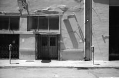 view on street (ThroopD) Tags: buildingpermit monochromy unmonochrome unmonochromy nonfoto filmchemistry filmed scannedfilm selfdevelopy rollei400s timeandplaceunknown