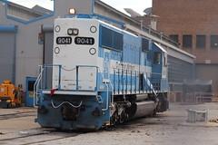 The last Oakway: part 2 (aquascissors) Tags: railroad railway railfanning rail rails railfan chicago emd electromotive oakway oakwaysd60 sd60 emdsd60 emdlagrange emdmccook emdx9041 lagrange lagrangeil