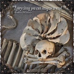 """""""Everything you can imagine is real."""" -Pablo Picasso . 💀Turn on post notifications, click link in BIO to follow along on our journey, and sign up on our mailing list at: ☩ sedlecossuary.mechanicalwhispers.com ☩ . 🌟 Lots more exciting announcem (Sedlec Ossuary Project) Tags: sedlecossuaryproject sedlec ossuary project sedlecossuary kostnice kutnahora kutna hora prague czechrepublic czech republic czechia churchofbones church bones skeleton skulls humanbones human mementomori memento mori creepy travel macabre death dark historical architecture historicpreservation historic preservation landmark explore unusual mechanicalwhispers mechanical whispers instagram ifttt"""