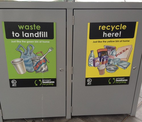 Conflicting signs about re-cycling