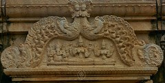 "Magara Thorana @ Thiruperumanandar Temple- Madathu Koyil -Nangupatti-Pudukottai District. (Kalai ""N"" Koyil) Tags: nikon d 5200 kalainkoyil asi trichirapalli nangupatti narthamalai kulathur odukkur pudukottai district tamilnadu southindiantemple architecture 18140mm"