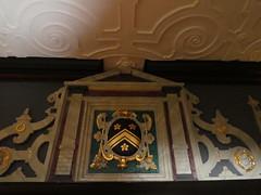 UK - London - Bulls Cross - Forty Hall - Room - Coat of Arms (JulesFoto) Tags: uk england london centrallondonoutdoorgroup clog enfield bullscross fortyhall jacobeanhouse coatofarms