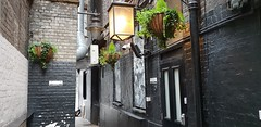 Brydges Place, London. Revisited (standhisround) Tags: brydgesplace alleyway walkway buildings building london england uk architecture alley hiddenlondon themarquis publichouse pub inn tavern wall walls wednesdaywalls hww lights lantern bricks historic wc2
