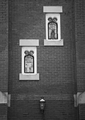 23/365 - Owl be watching you (puckish) Tags: 365the2019edition 3652019 day23365 23jan19 owl church monochrome