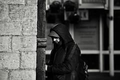 On the Corner (Bury Gardener) Tags: monochrome mono burystedmunds bw blackandwhite britain suffolk streetphotography street streetcandids snaps strangers candid candids people peoplewatching folks nikond7200 nikon 2019 england eastanglia cornhill