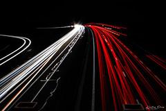 Photo de nuit (yoannkls) Tags: feux voiture nuit photo 30sec reims blandin phares