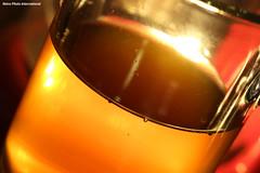 Coffee Glass (Retro Photo International) Tags: coffee glass macro brew carl zeiss jena tessar 50mm 35 macromondays
