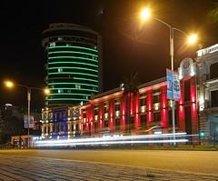 Flash in the night.  (Batumi) (alexandrarutynov) Tags: flash nightcity batumi illumination exposure xperia
