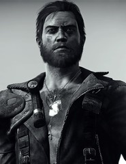 """""""Soldier"""" (L1netty) Tags: madmax avalanchestudios warnerbros pc game gaming pcgaming videogame reshade screenshot virtual digital 6k srwe character max man male people portrait face blackandwhite monochrome bw"""