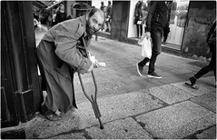 Old Souls (Steve Lundqvist) Tags: street road crossroad streetphotography strada bologna italia trip viaggio urban city urbanscape loner background downtown depth photography streets poverty place people homeless candid world outside persone town leica q summer 2018 traveling jurney district documentary social sidewalk path footpath pike