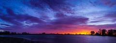 Waneka Lake - Canada Geese (Bernie Duhamel) Tags: wanekalake wanekareservoir wanekalakepark lafayette colorado sunrise reflection water waves sun morning bernie duhamel frontrange greatphotographers teamsony rockymountains sonya7riii sony2470mm