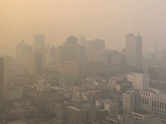 The View from my Office This Afternoon (Thomas Hawk) Tags: sanfrancisco smog airpollution campfire california usa unitedstates fire fires america unitedstatesofamerica fav10 fav25 fav50