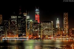 Manhattan (jesussanchez95) Tags: manhattan newyork nuevayork nocturna noche night urbanlandscape arquitectura architecture edificio city ciudad building hdr