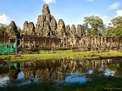 Angkor Thom – 17 (Roy Prasad) Tags: green cambodia asia khmer travel architecture temple angkorwat prasad royprasad hindu buddhist ruins ancient phaseone xf schenider water reflection pond