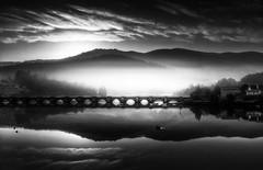 Pontenafonso (Noel F.) Tags: sony a7r ii a7rii galiza galicia mist fog neboa pontenafonso outes noia tambre