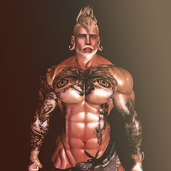 Heads will roll (SecondlifeInkBoy) Tags: secondlife second life muscle avatar avi