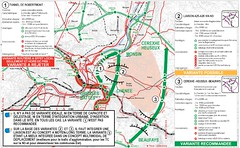 Liège A605 plan (European Roads) Tags: a605 r7 liège belgium wallonie autoroute