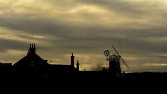 Cley-next-the-Sea windmill, Norfolk (boogie1670) Tags: fujifilm xt3 camera 1024mm fuji lens northnorfolk sunset silhouette windmills ngc cleynextthesea landscapes