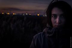 story behind eys (simone.pelatti) Tags: simonepelatti2018 countryside industrial cold sunset dark puntamarina ravenna contrast portrait evening