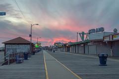 Wildwood Boardwalk (seanbeebe_photo) Tags: sunset nj newjersey wildwood boardwalk