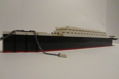 Launch of the Titanic (Cormac2000) Tags: lego titanic rms white star line 1911 1912 belfast ship launch 401