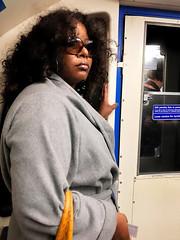 Commuter (DaDa 1127) Tags: london underground metro woman travel train cool amazing beautiful beauty street communication commuter traffic transportation city cityscape uk europe light lifestyle life lifestyles portrait people girl landmark urban