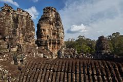 Bayon – Stone faces (Thomas Mülchi) Tags: bayon temple angkor siemreap cambodia 2018 siemreapprovince angkorthom tower stoneface architecture krongsiemreap kh