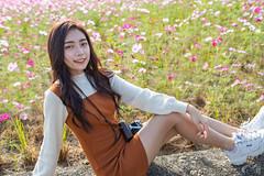 洪梓瑄 (firebolin) Tags: 人像 亞洲 女孩 少女 花 甜美 攝影 青春氣息 秋